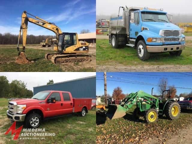 Hudsonville Equipment Auction