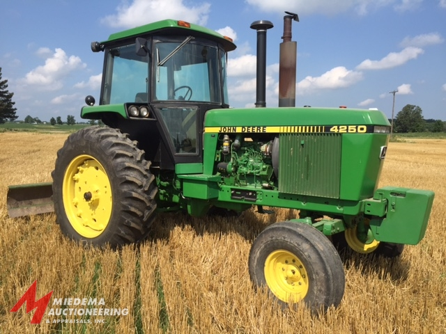 Record Price on John Deere 4250 Tractor | Machinery Pete